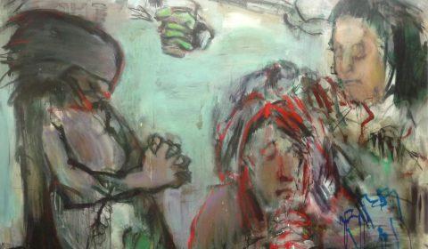 Malerei von Dieter Konsek nach Goyas Los Caprichos