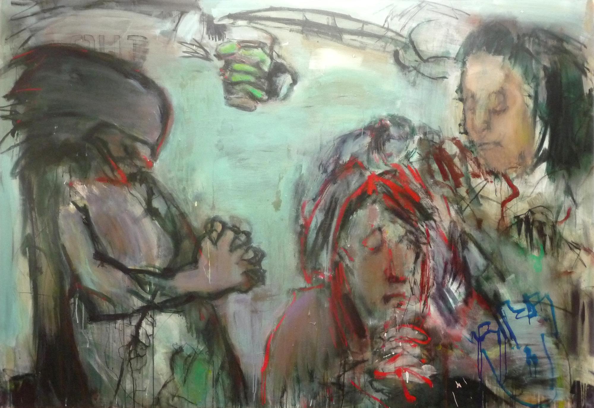 Gruppenausstellung: Filmzeichnungen / Malereien im Kulturzentrum Linse  2. 11. 2017 – 7. 1. 2018