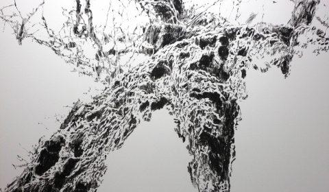 Baum 2, 2015, Acryl auf Leinwand, 125 x 200 cm © Dieter Konsek