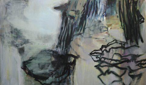 Wachstum 3, 2018, Acryl auf Leinwand, 125 x 200 cm